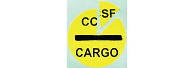 TSA Sticker - Certified Cargo Screening Program